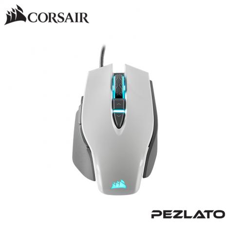Cosair M65 Elite RGB Gaming Mouse (White)