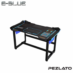 E-Blue Glowing LED PC eSports Gaming Desk Table (Size 1.2 m)