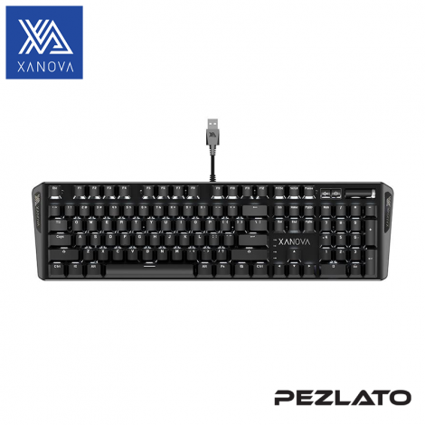 XANOVA Pulsar Mechanical Keyboard (Red Switch)