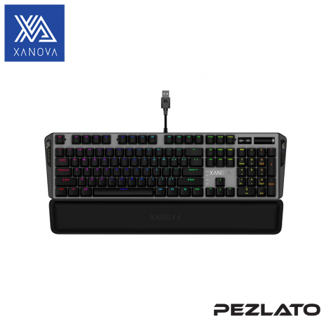 XANOVA Magnetar RGB Mechanical Keyboard(Red Switch)