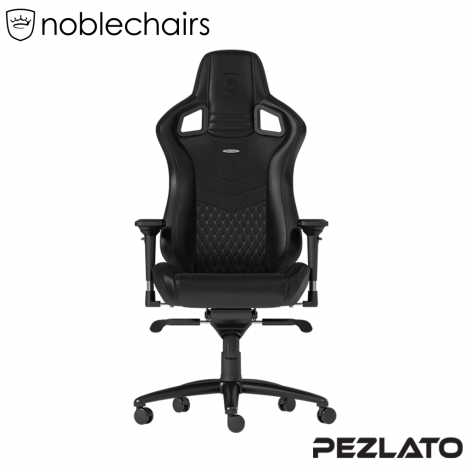 Noblechairs EPIC REAL Gaming Chair Black (หนังแท้)