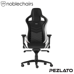 Noblechairs EPIC REAL Gaming Chair Black/White/Red