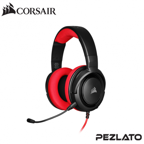 Corsair HS35 Stereo Gaming Headset (Red)