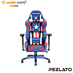 Anda Seat Special Edition Gaming Chair (Blue/Red/White)