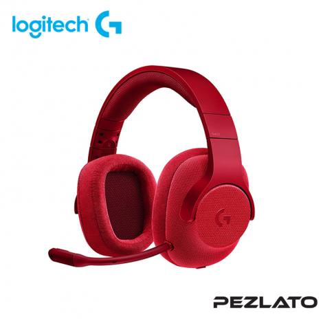 Logitech G433 Surround 7.1 Gaming Headset (RED)