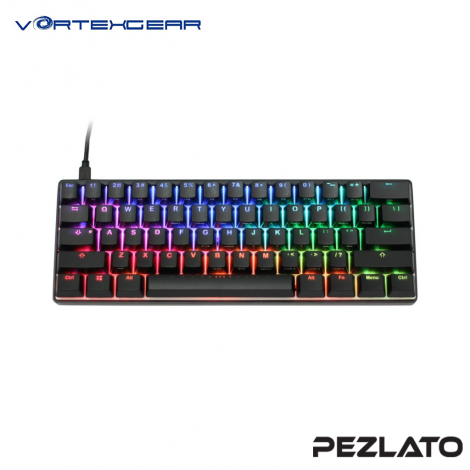 Vortexgear Pok3R RGB Mechanical Cherry MX Gaming Keyboard (silent Red SW)