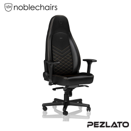 Noblechairs ICON PU Gaming Chair Black/Gold