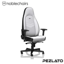 (มีบริการส่งด่วน 4 ชม) noblechairs ICON PU Gaming Chair White/Black