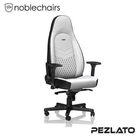 noblechairs ICON PU Gaming Chair White/Black