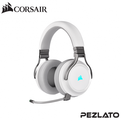 Corsair Virtuoso RGB Wireless Gaming Headset (White)