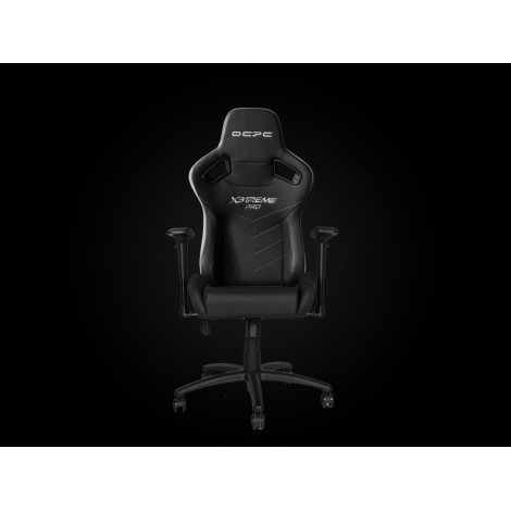 OCPC X3TREME PRO eSports Gaming Chair Black/Carbon (Real Leather)