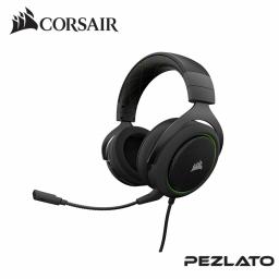 Corsair HS50 Stereo Gaming Headset (Green)