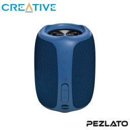 Creative MUVO Play Bluetooth Wireless Speaker (Blue)