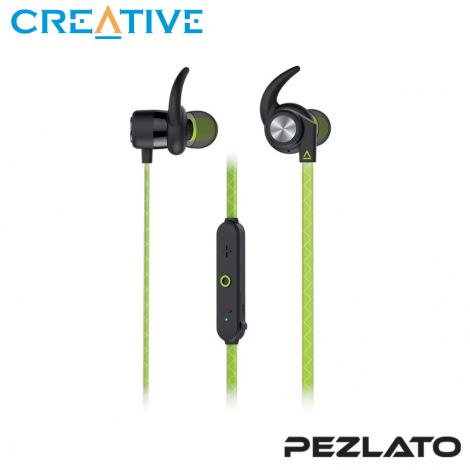 Creative Outlier Sports Wireless Sweatproof in-Ears (Green)