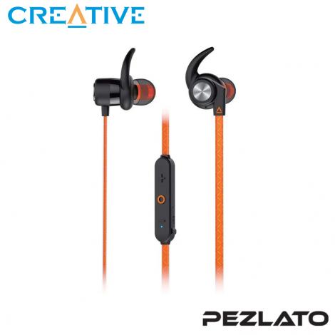 Creative Outlier Sports Wireless Sweatproof In-Ears (Orange)