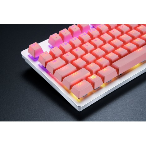 Razer PBT Keycap Upgrade Set - Quartz Pink