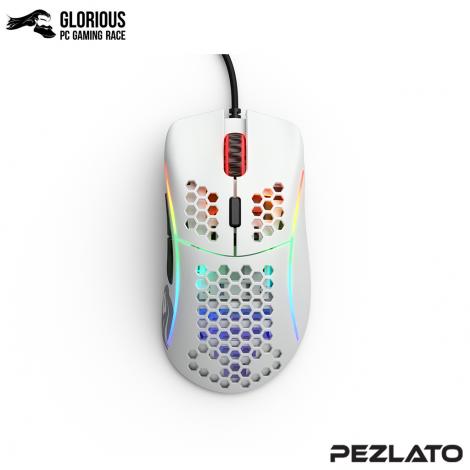 Glorious Model D Gaming Mouse Matte White (ขาวด้าน)