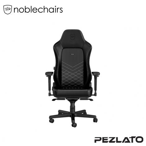 (มีบริการส่งด่วน 4 ชม) noblechairs Hero PU Gaming Chair Black/Platinum White