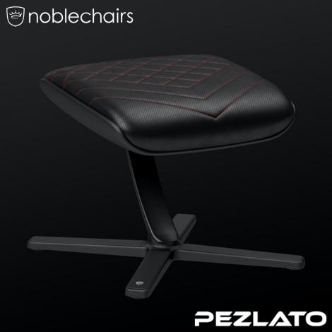 noblechairs Footrest PU Black/Red (ที่วางเท้าหนัง PU)