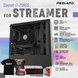 Comset i7 - 2080S For Streamers Set