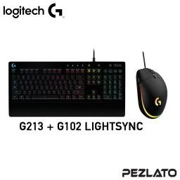Logitech SET G213+102 LIGHTSYNC (Black)