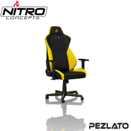 Nitro Concepts S300 Gaming Chair Fabric Black/Yellow