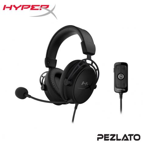 HyperX Cloud Alpha S Gaming Headset (Black)