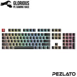 Glorious PBT Mechanical Aura Keycaps 104 key (US)