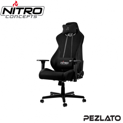 Nitro Concepts S300 Gaming Chair Fabric Black