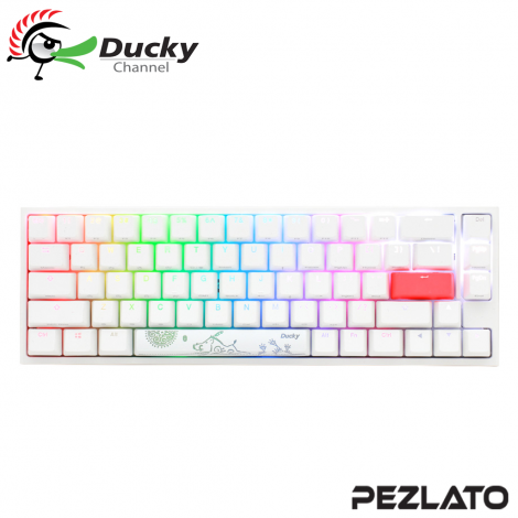 Ducky One 2 SF RGB Pure White Blue Switch