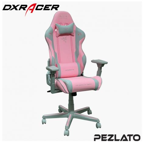 DXRacer x Razer Limited Edition Gaming Chair (Pink)