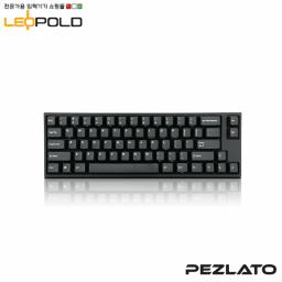 Leopold FC660M/EBPD (Black PD) (Red Switch)