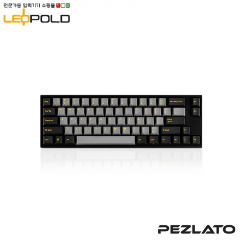 Leopold FC660M/EGDPD(YE) (YellowFont) (Silent Red Switch)