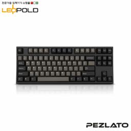 Leopold FC750R/EDPD Graphite White (Brown Switch)