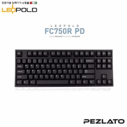 Leopold FC750R/EBPD Black PD (Red Switch)