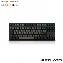 Leopold FC750R/EDPD(S) Graphite/Blue FontPD (Speed Silver Switch)