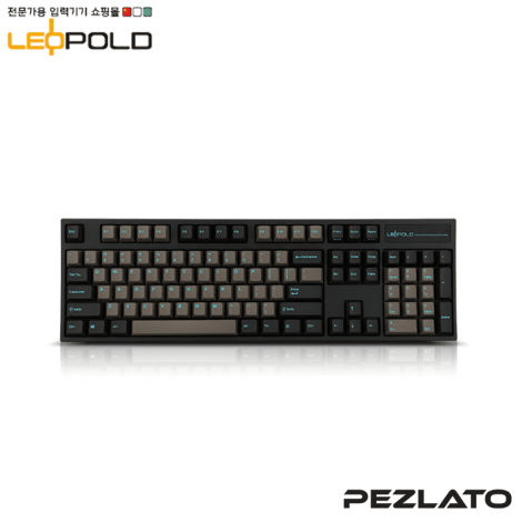 Leopold FC900R/EDPD(S) Graphite Blue PD (Silent Red Switch)