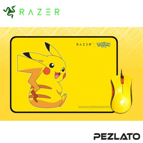 Razer Pokemon Pikachu Limited Edition Mouse+Mat Bundle