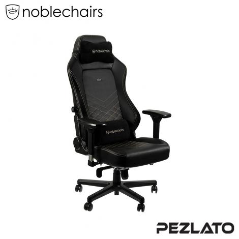 (มีบริการส่งด่วน 4 ชม) noblechairs Hero PU Gaming Chair Black/Gold