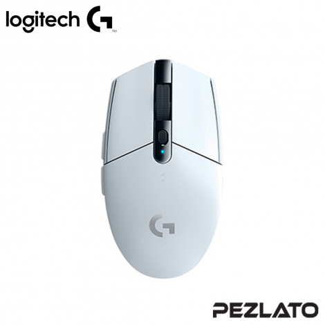 Logitech G304 Wireless Gaming Mouse (White)