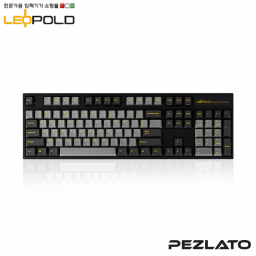 Leopold FC9OOR Ash/Yellow Font PD/ Red SW