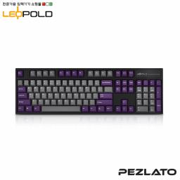 Leopold FC900R Grey/Purple Black case PD/ Brown SW