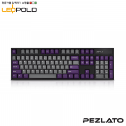 Leopold FC90OR Grey/Purple Black case PD/ Silent Red SW
