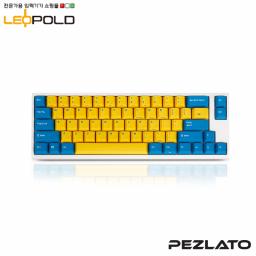 Leopold FC660M Yellow/Blue White case PD/ Brown SW