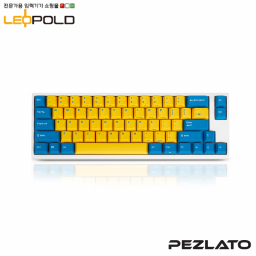 Leopold FC660MYellow/Blue White case PD/ Red SW