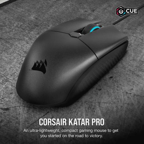 Corsair Katar Pro Ultra-Light FPS/MOBA Gaming Mouse