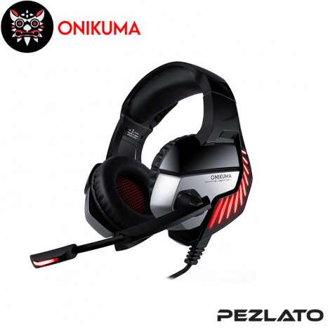 Onikuma K5-Pro Gaming Headphone (Red)
