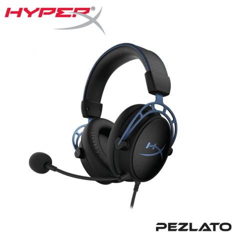 HyperX Cloud Alpha S Gaming Headset (Blue)