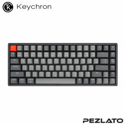 Keychron K2 V.2 Aluminum RGB Backlight Hot-Swappable Light Grey (Red SW)(TH)