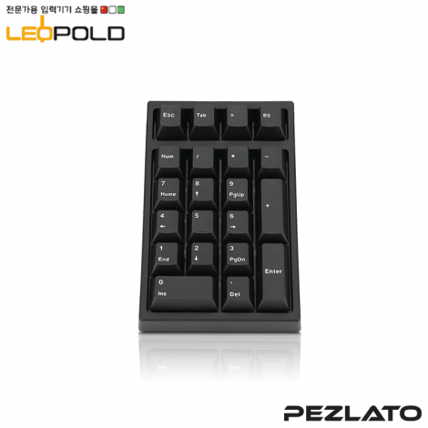 Leopold FC210TP Black PD/RED SW (RBPD)